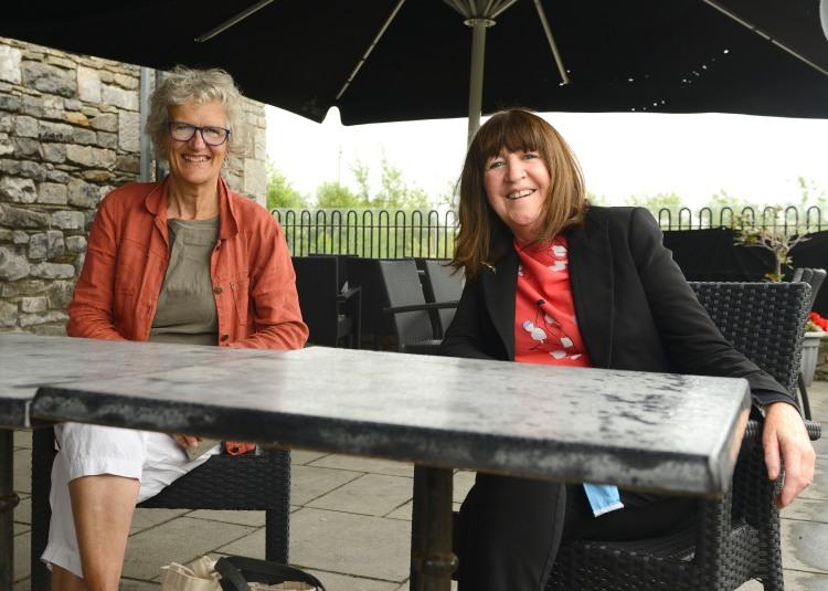 Ernestine Woelger, Director / Festival Organiser, and Enda Coyle Greene, Artistic Director / Curator